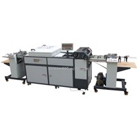 VSGB-460/660A Small-Sized Automatic Full UV Coating Machine