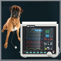 Veterinary Patient Monitor NIBP+ECG+SPO2+PR+RESP+TEMP