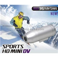 Waterproof Sports HD Mini DV Bullet Video Camera