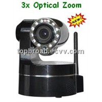 Wireless Megapixel Pan Tilt IP Camera System with3xOptional Zoom(TB-Z009BW)