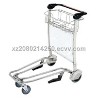 With brake and plastic handle trolley(X418-GG5C)