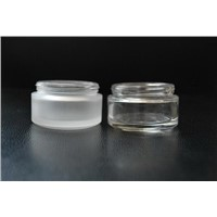 YK cosmetic bottles glass frosting powder