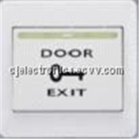 access control system-CJ-DB7 Plastic Exit Button with Night Lighter