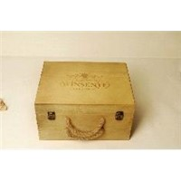 best seller gift wine box, natural wooden box