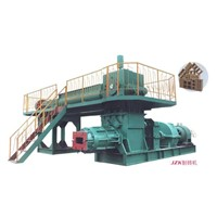 Clay Brick Making Machine / Brick Machine (Double Stage Vacuum Extruder)