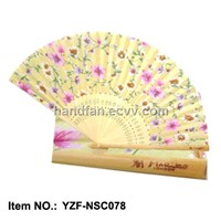 gift fan, silk gift fan, Japanese gift fan