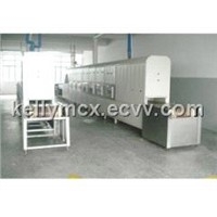 industrial microwave reducing furnace for ilmenite ore