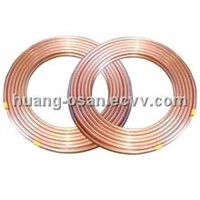 pancake coiled copper tubes