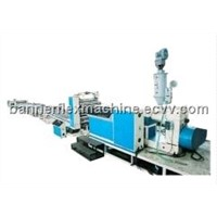 pe plastic sheet extruding production line