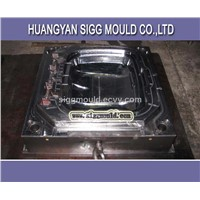 plastic injection trash can  mould from far east
