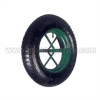 pneumatic rubber wheel 400-8