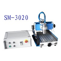 portable MINI CNC Router machine in badges(300x200mm)