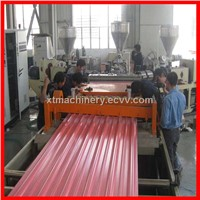 pvc profile production line for Single/Multi layer heat insulation corrugated board