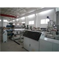 pvc sheet extrusion machine