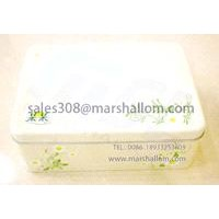 rectangular tin box for gift packaging