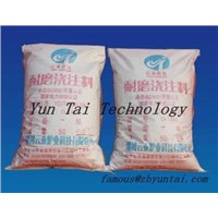 refractory cement for furnace building