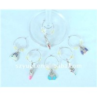 shoes and bag Wine Glass Charms