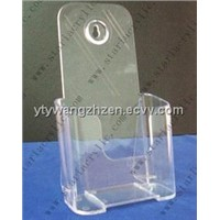 small plastic brochure holder
