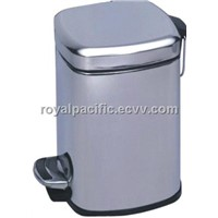square pedal dustbin