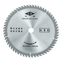 standard saw blade for cutting wood