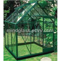 tempered 4mm ultra clear greenhouse glass