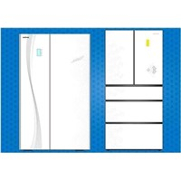 tempered decorative glass panel for refrigerator