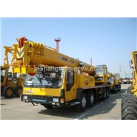 to tons truck crane