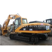 used caterpillar cat320c excavator low price