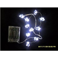 waterproof christmas decoration lights/ multi color rice shape