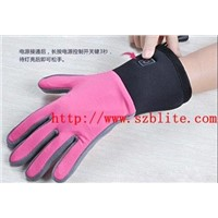 winter outdoor heated gloves