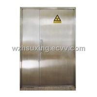 x-ray lead door with CE