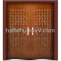 aluminum casting door with chinese character