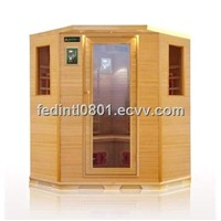infrared sauna house, sauna cabin, sauna spa room  (D402CHE)