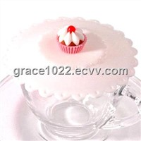 silicone cup cover,christmas gift