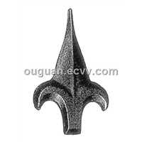 wrought iron ornamental spear points
