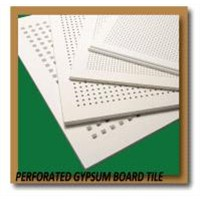 Perforated Gypsum Boards