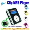 GOOD Price Clip mp3 player with LCD screen TF Card slot can be used as usb drive/card reader