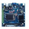 Intel LGA1155 Mini- ITX Motherboard with Intel H 61 Chipset Double Lan VGA and DVI
