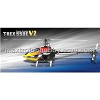 ALIGN T-REX 550E Combo V2 JR XG8 Ready To Fly Combo RTF RC Helicopter