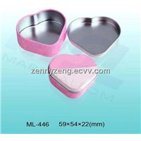 Candy Tin Container,Heart-shaped cans ,Craft Tins ,chocolate boxes