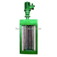 Channel type double drums wastewater grinder