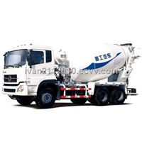 Concrete mixer transport truck