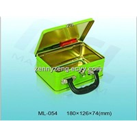 Gift Tin Boxes, handle tin boxes,  Lunch boxes