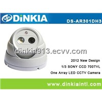 Security Water-proof 40M Array Led Dome Camera (DS-AR301)