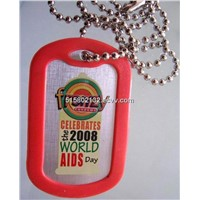Silent side  Dog Tag,aluminum dog tag , metal craft , promotional product