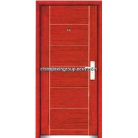 Steel Wooden Fireproof Security Door