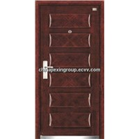 Steel Wooden Security Armored Door