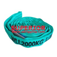 WLL 2 TON, 2000KG POLYESTER ROUND SLINGS