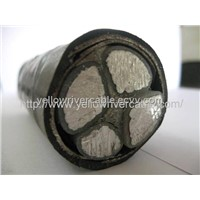 0.6/1KV Aluminum Core PVC Insulated PVC Sheathed Power Cable