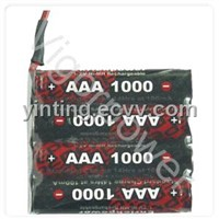 1000mAh,4.8V EP Ni-MH battery
